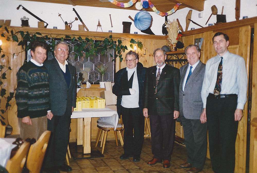 Teilnehmer der Vorstandssitzung 1996